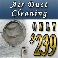 Air Duct Cleaning Special