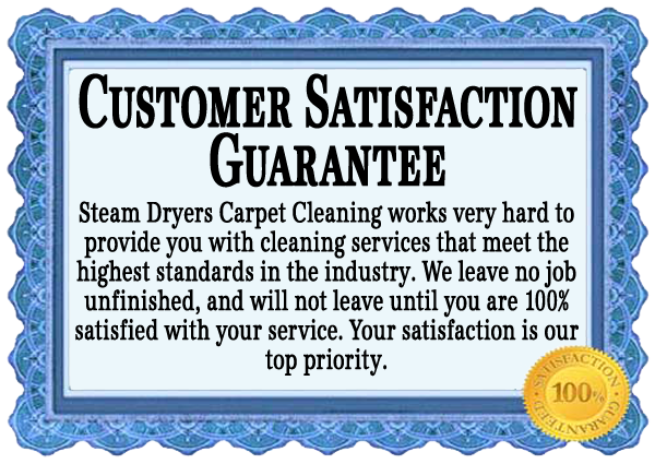 Steam Dryers Guarantee - Atlanta Carpet Cleaning, Carpet ...